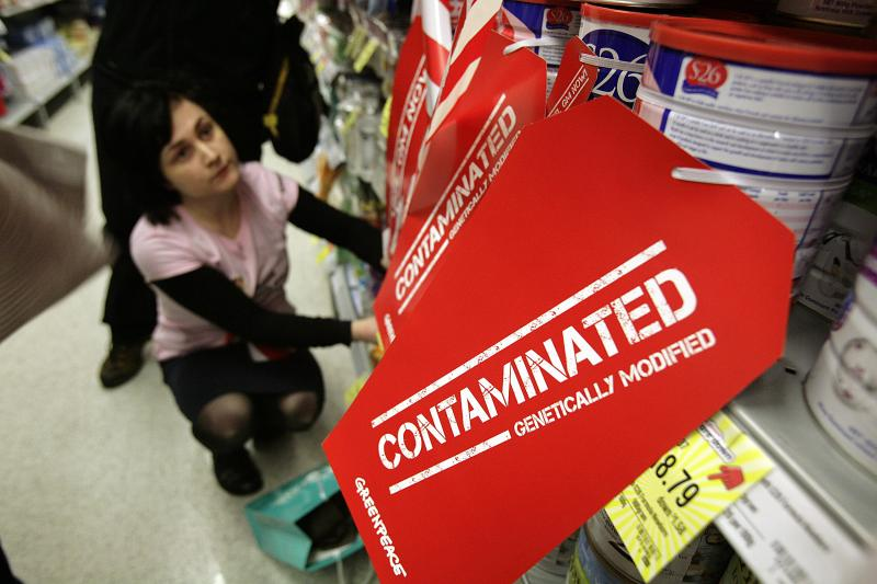 ../../Contaminated GM baby food remains on supermarket shelves, unlabelled.